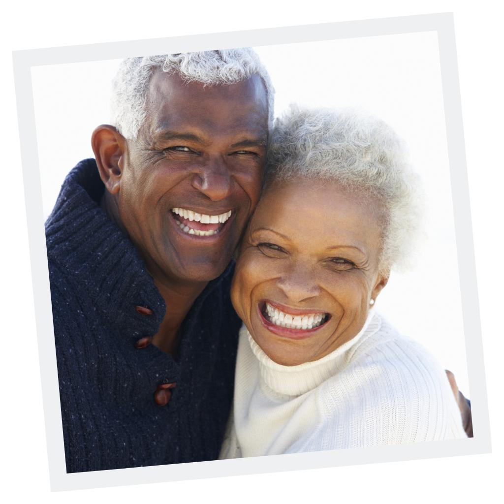 Life Insurance for Happy Senior Couple