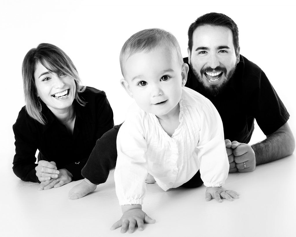 happy family who get best insurance plan